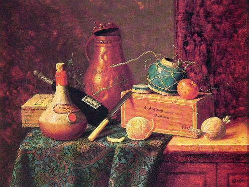 Still Life by William Michael Harnett