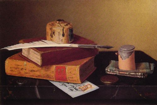 The Banker's Table by William Michael Harnett