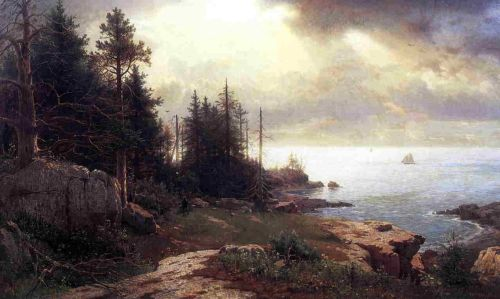 View of Mount Desert by William Stanley Haseltine