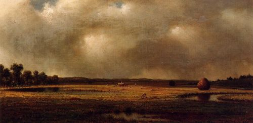 Storm over the Marsh by Martin Johnson Heade