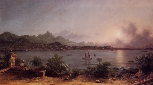 The Harbor at Rio de Janeiro by Martin Johnson Heade