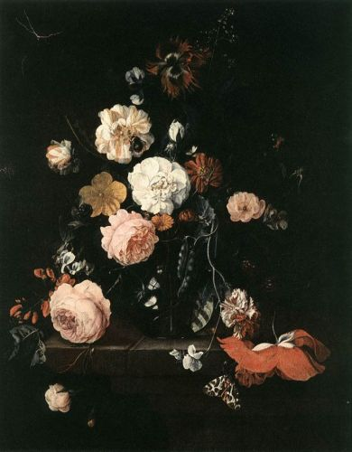 Flower Still-Life by Cornelis de Heem