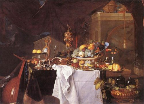 A Table of Desserts by Jan Davidszoon de Heem