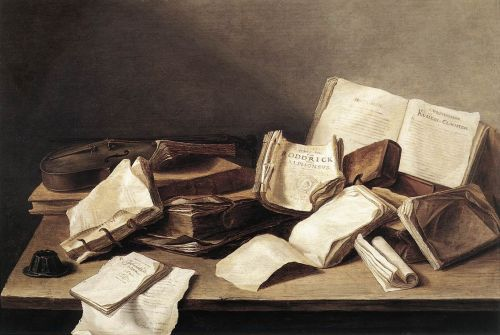 Still-Life of Books by Jan Davidszoon de Heem