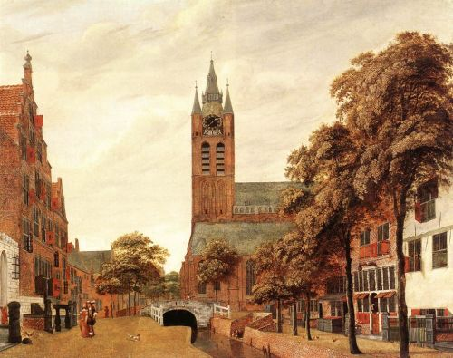 View of Delft by Jan van der Heyden