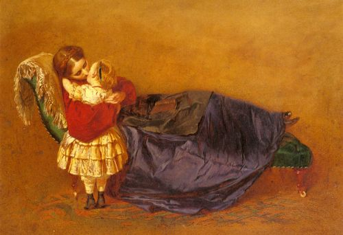 Mother and Child by George Elgar Hicks