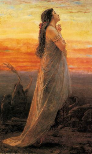 The Lament of Jephthah's Daughter by George Elgar Hicks