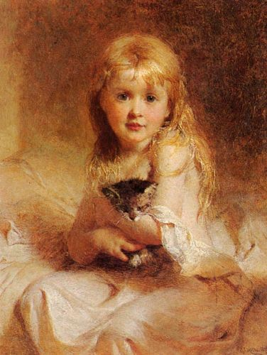 Young Companions by George Elgar Hicks