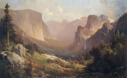 View of Yosemite Valley by Thomas Hill