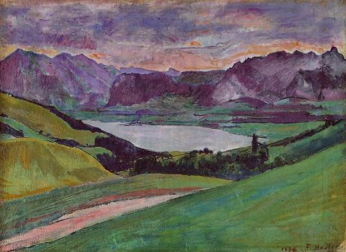 Thunersee by Ferdinand Hodler