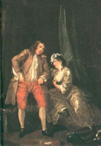 Before the Seduction and After by William Hogarth