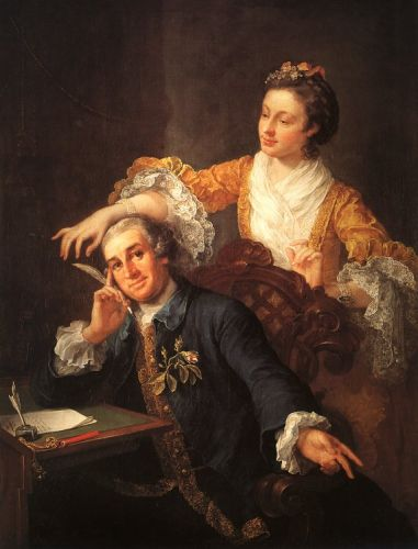 David Garrick and his Wife by William Hogarth