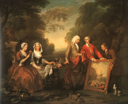 The Fountaine Family by William Hogarth
