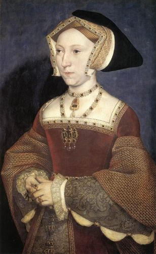 Jane Seymour, Queen of England by Hans Il Giovane Holbein