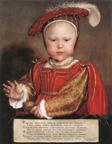 Portrait of Edward, Prince of Wales by Hans Il Giovane Holbein