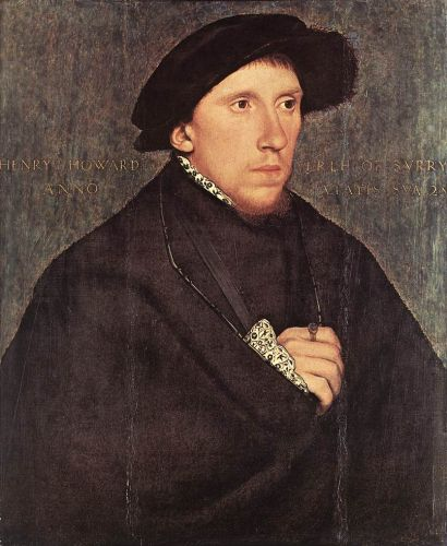 Portrait of Henry Howard, the Earl of Surrey by Hans Il Giovane Holbein