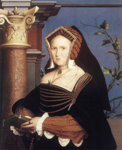 Portrait of Lady Mary Guildford by Hans Il Giovane Holbein