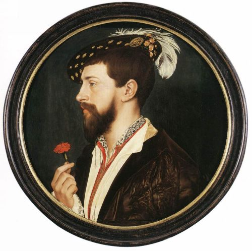 Portrait of Simon George by Hans Il Giovane Holbein