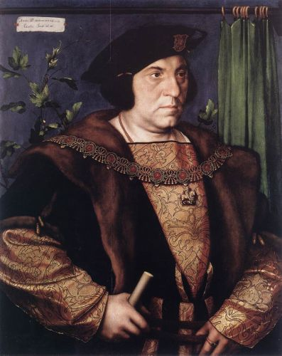 Portrait of Sir Henry Guildford by Hans Il Giovane Holbein