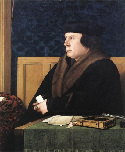 Portrait of Thomas Cromwell by Hans Il Giovane Holbein