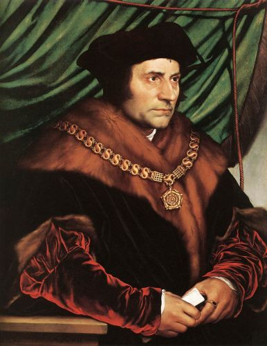 Sir Thomas More by Hans Il Giovane Holbein