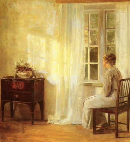 Waiting By The Window by Carl Holsoe