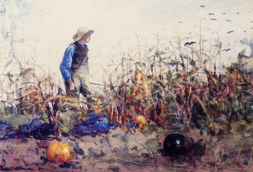 Among the Vegetables by Winslow Homer