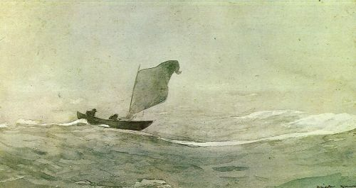 Blown Away by Winslow Homer