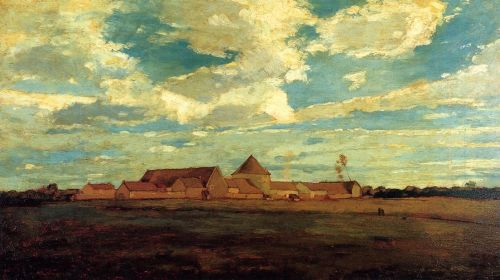 Cernay la Ville: French Farm by Winslow Homer