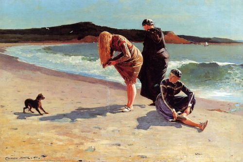 Eagle Head, Manchester, Massachusetts by Winslow Homer