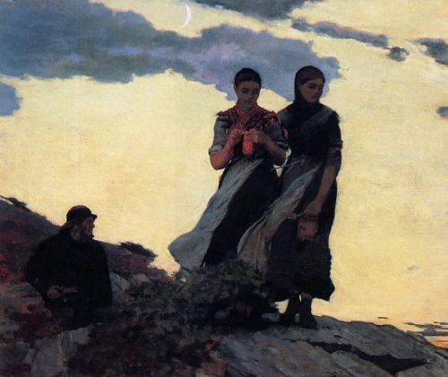 Early Evening by Winslow Homer
