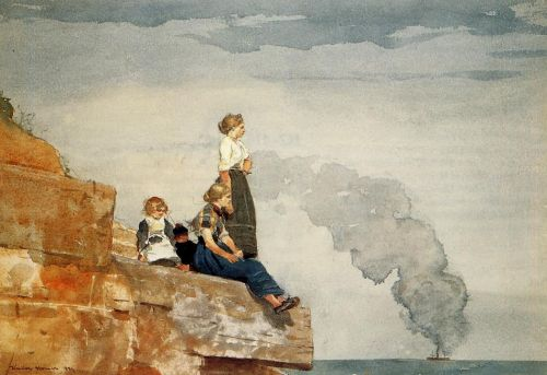 Fisherman's Family by Winslow Homer