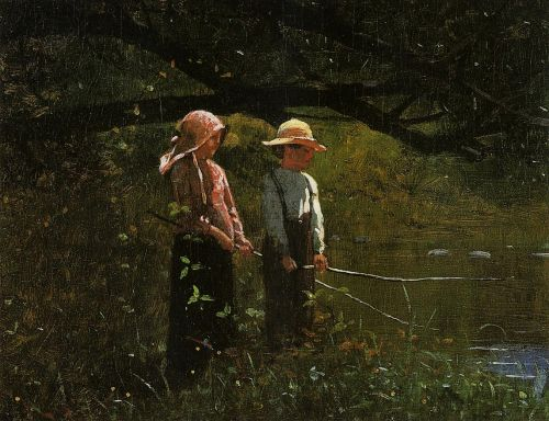 Fishing by Winslow Homer