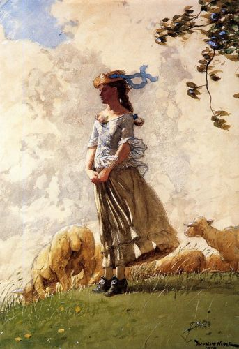 Fresh Air by Winslow Homer