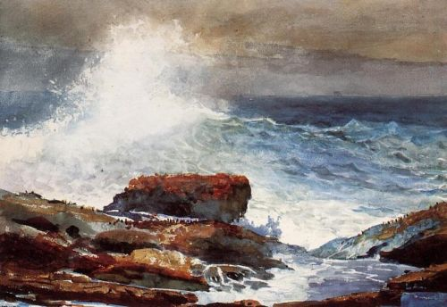 Incoming Tide by Winslow Homer