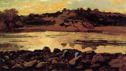 Lobster Cove, Manchester, Massachusetts by Winslow Homer