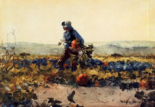 Old English Song by Winslow Homer
