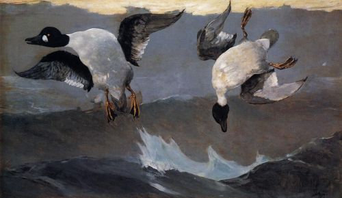 Right and Left by Winslow Homer