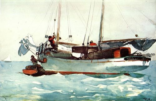 Taking on Provisions by Winslow Homer