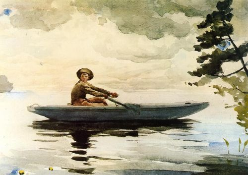 The Boatsman by Winslow Homer