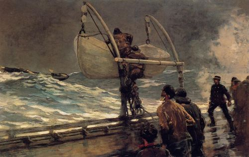 The Signal of Distress by Winslow Homer