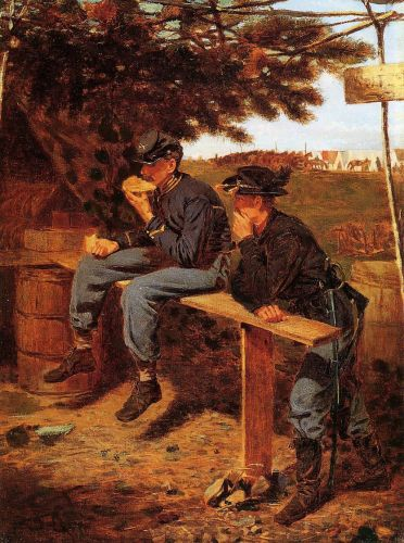 The Tutler's Tent by Winslow Homer