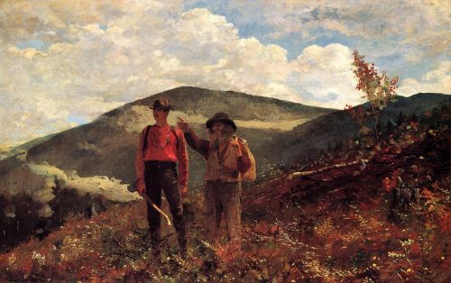 The Two Guides by Winslow Homer