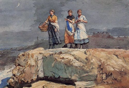 Where are the Boats by Winslow Homer