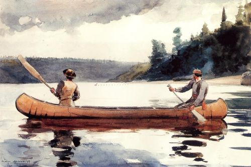 Young Ducks by Winslow Homer