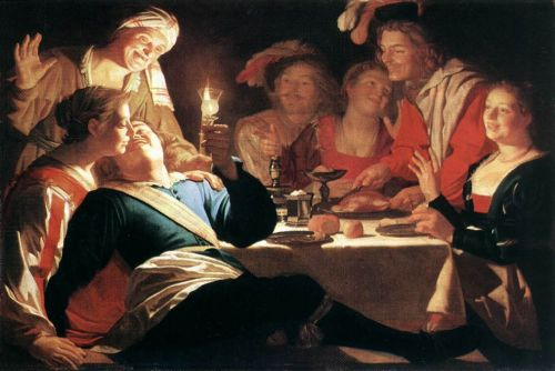 The Prodigal Son by Gerrit van Honthorst
