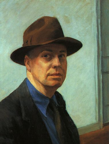 Self Portrait by Edward Hopper
