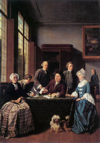 The Marriage Contract by Jan Jozef Horemans