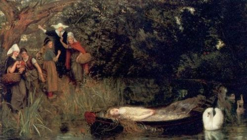 The Lady of Shalott by Arthur Hughes