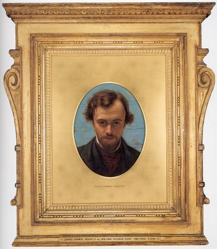 Dante Gabriel Rossetti by William Holman Hunt